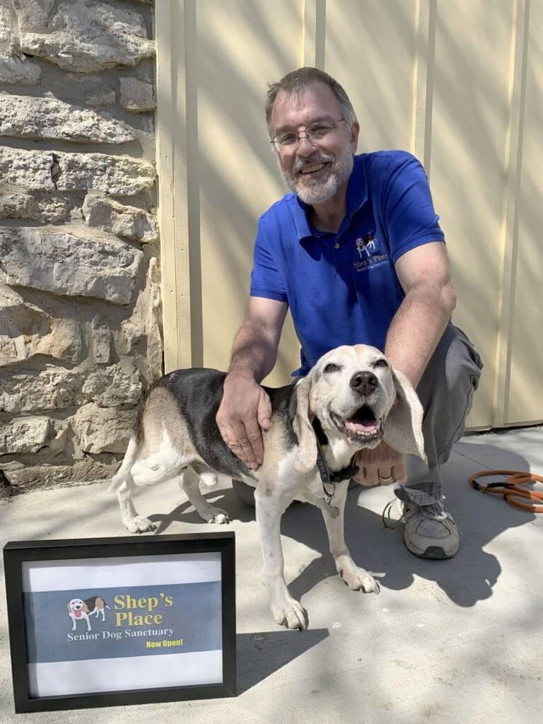 Homem cria santuário para cães idosos que foram abandonados 1